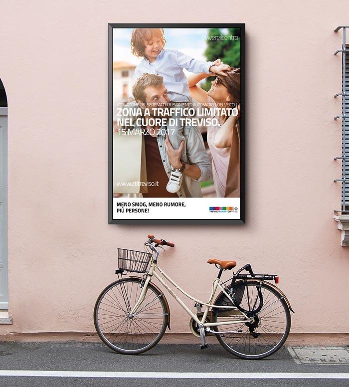 Campagna di comunicazione ZTL Comune di Treviso - Native