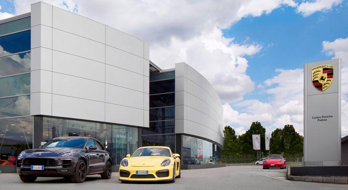servizio fotografico Porsche Italia - Native
