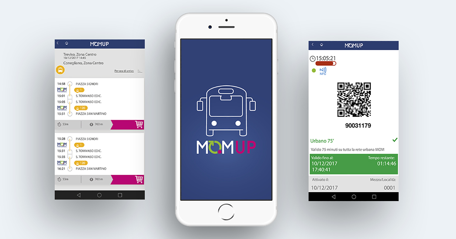 Native UI design per app mobile MOMUP