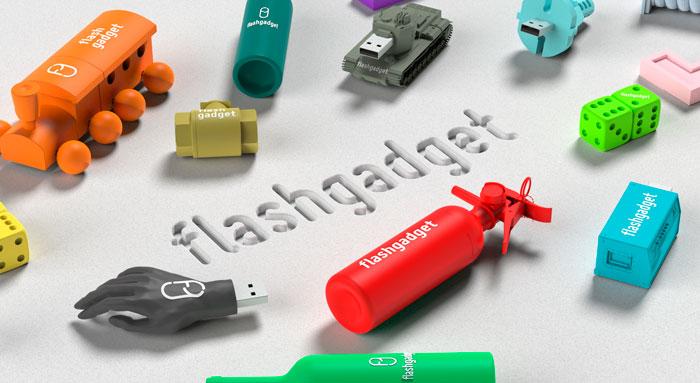 Native render 3D Flashgadget