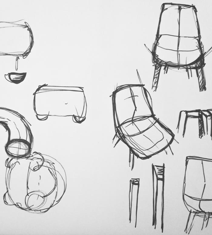 Design Stories sketch Abbey Clue Native